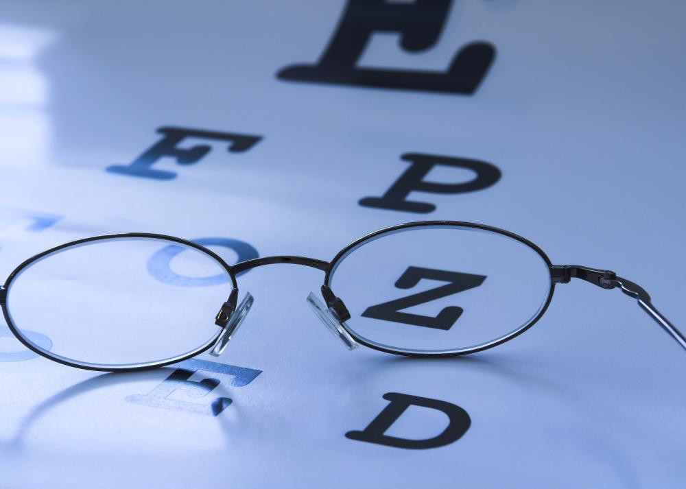 It's important to have regularly scheduled eye exams that can help identify vision problems at an early stage.