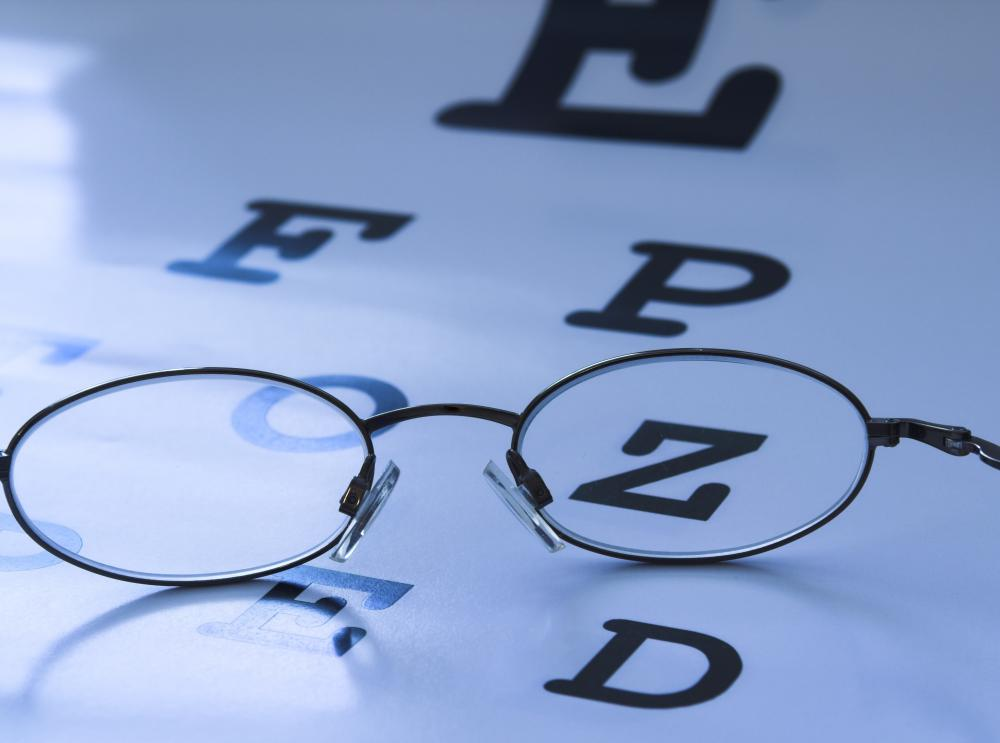 It's important to have regularly scheduled vision tests, particularly when there are any changes in vision.