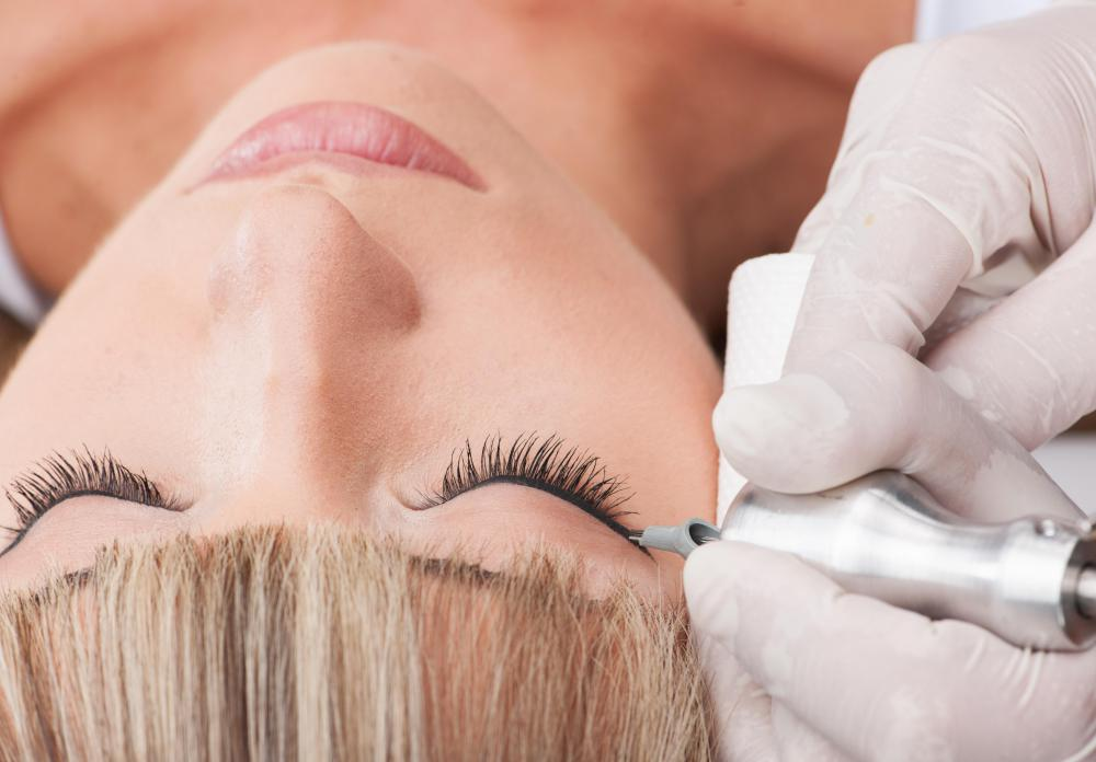 The popularity of permanent makeup tattoos has risen in recent years.