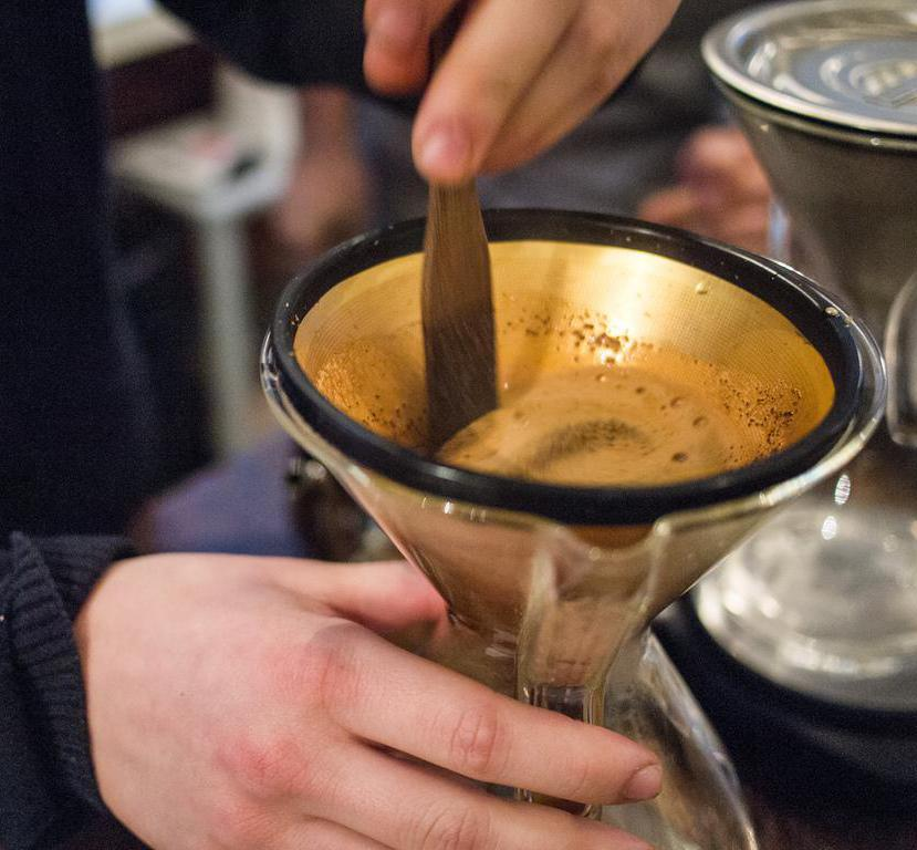 Using a gold coffee filter is and economically and environmentally sound practice.