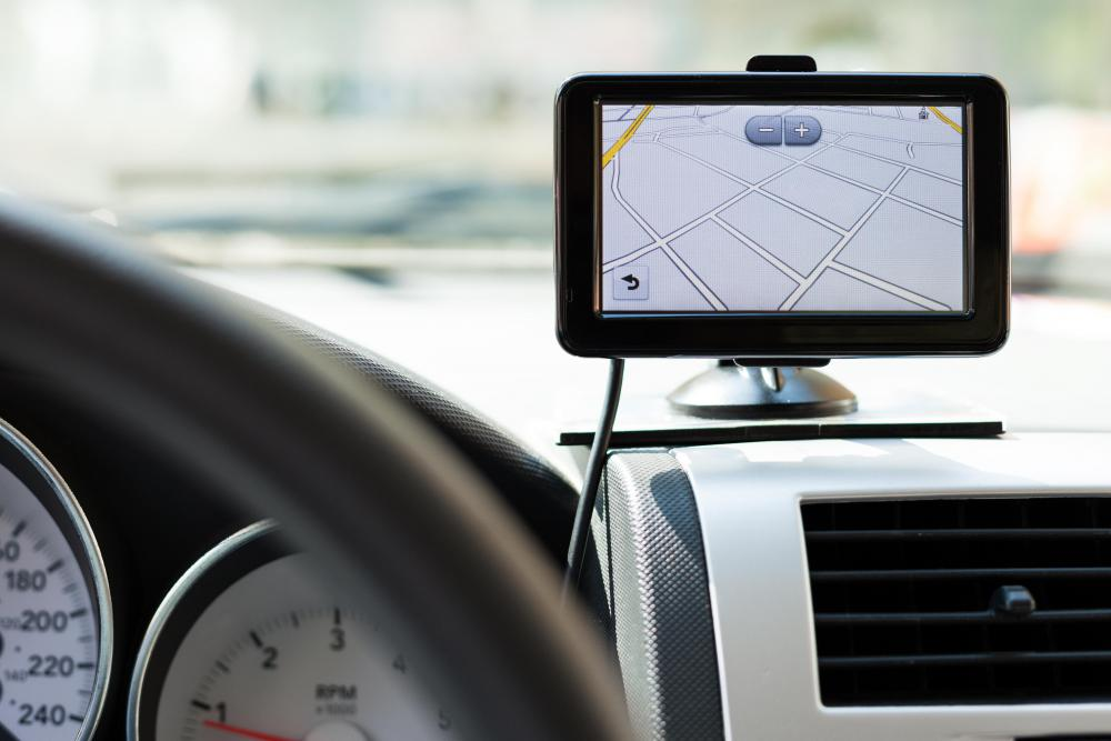 Some GPS units can accept routes from mapping services.
