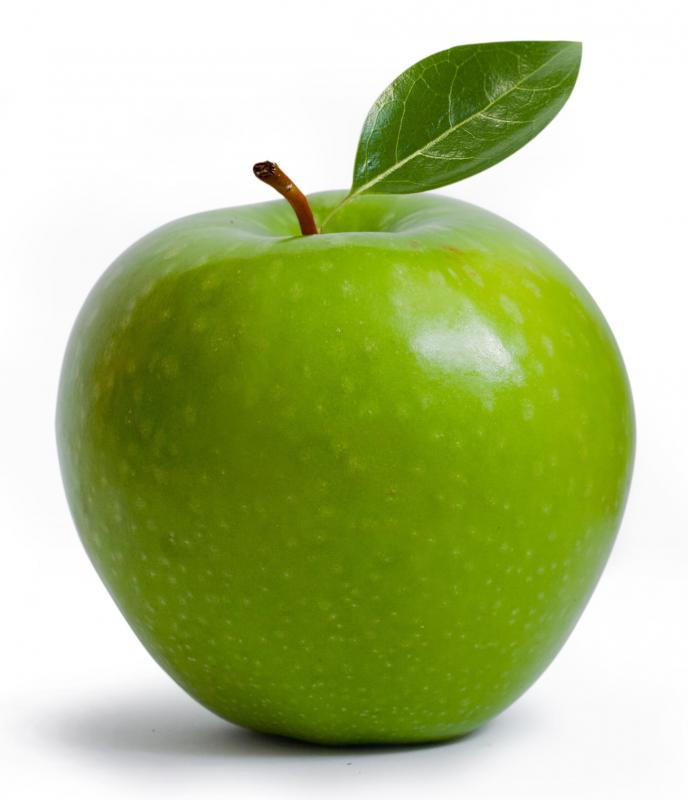Many people like to use tart Granny Smith apples in apple butter.