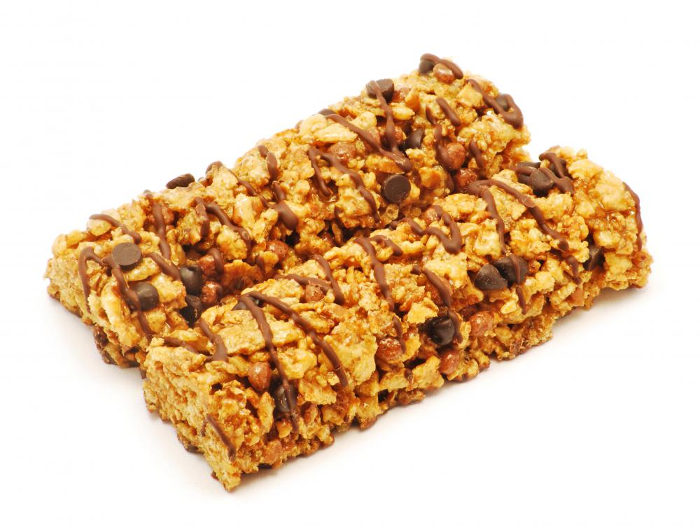 Energy bars may be beneficial to athletes.