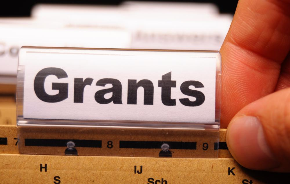 Recipients of federal business grants include education, housing, and other nonprofit groups.