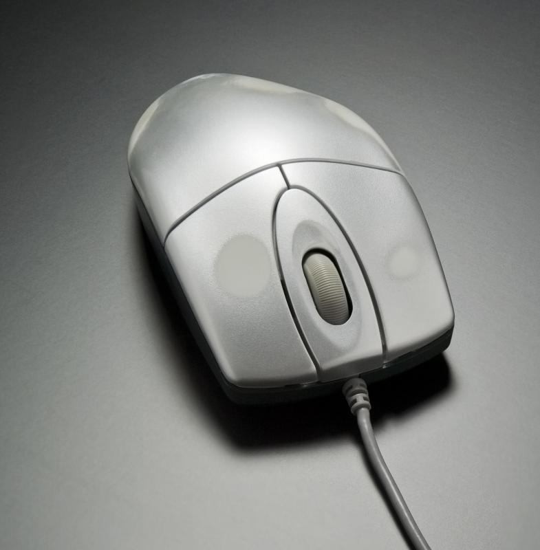Desktop computers need an external mouse to function.