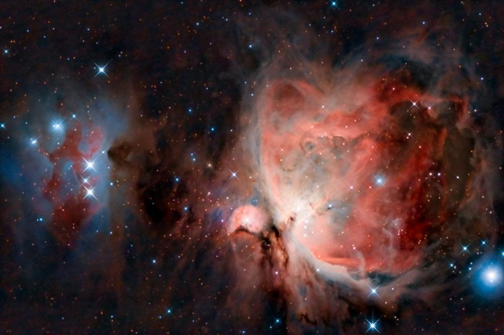The Orion Nebula.