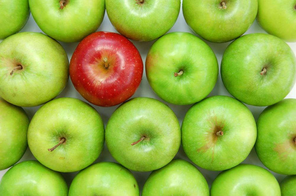green and red apples. apples. green and red apples p