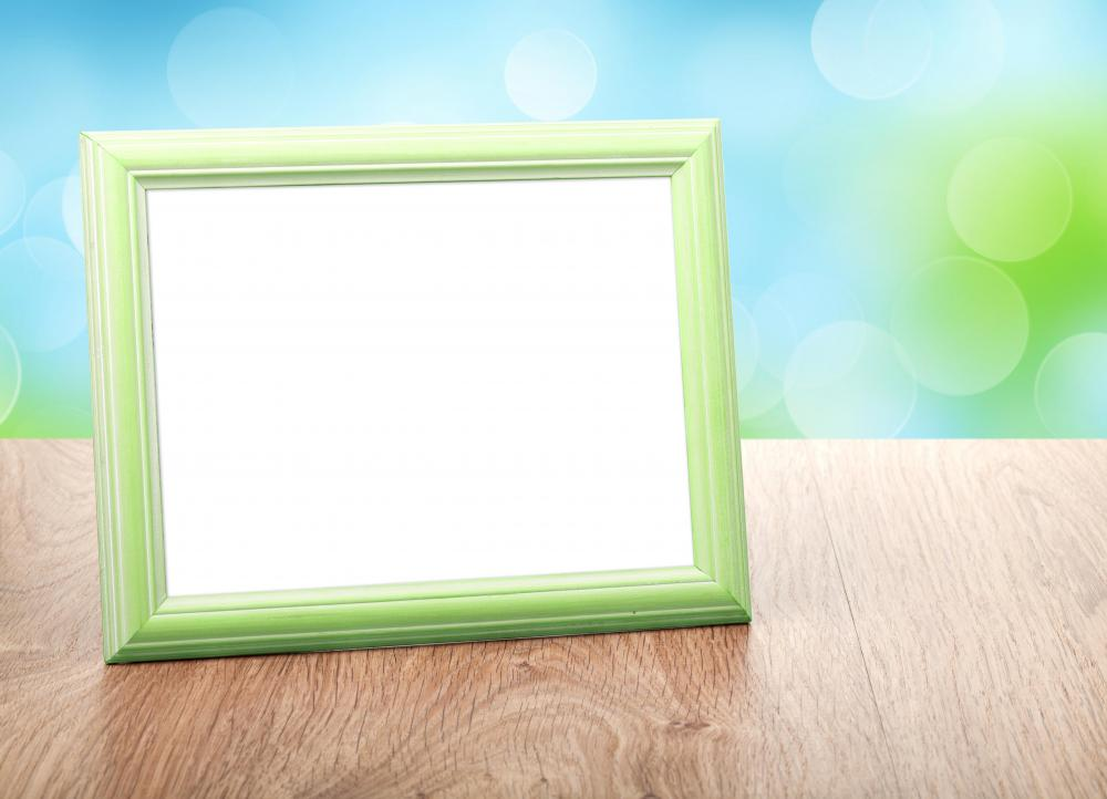 Picture frames are great for displaying photos and art.