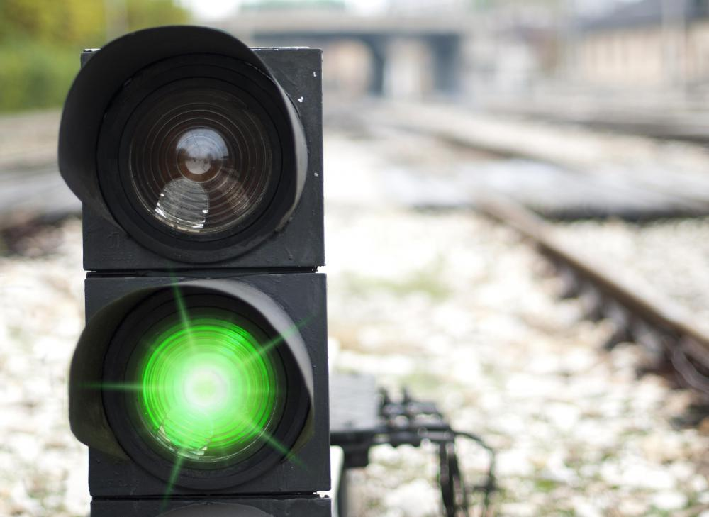 Heavy-duty electric relays can be used to control railroad signaling devices.