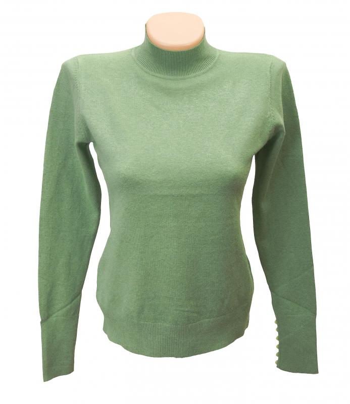 A sweater can be dressed up or down, making it a versatile and basic choice a wardrobe.