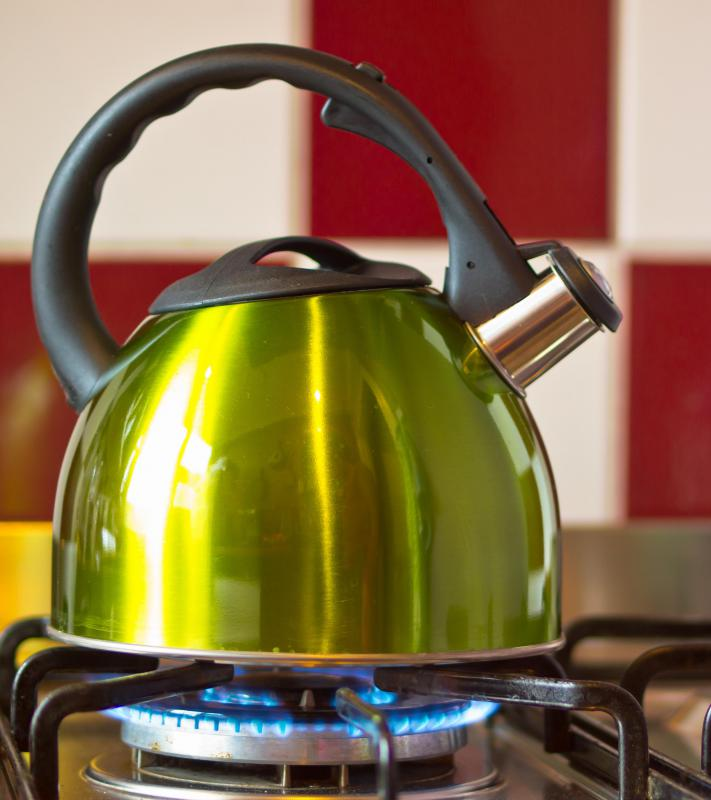 Gas stoves offer better heat control than electric stoves and in some instances are easier to clean.