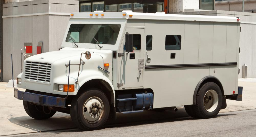 What is an Armored Car Robbery? (with pictures)