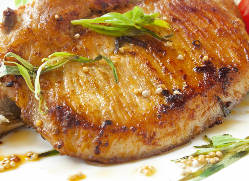 Pork is high in protein and B vitamins, but also high in fat and saturated fat.
