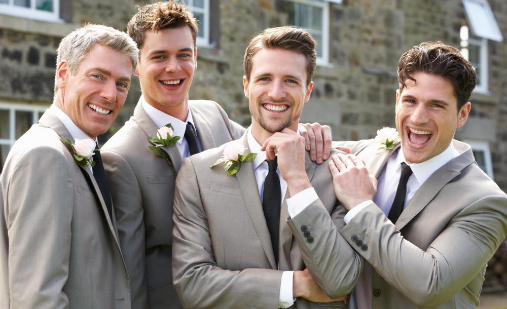 Groomsmen must be reliable enough to show up on time for rehearsals ...