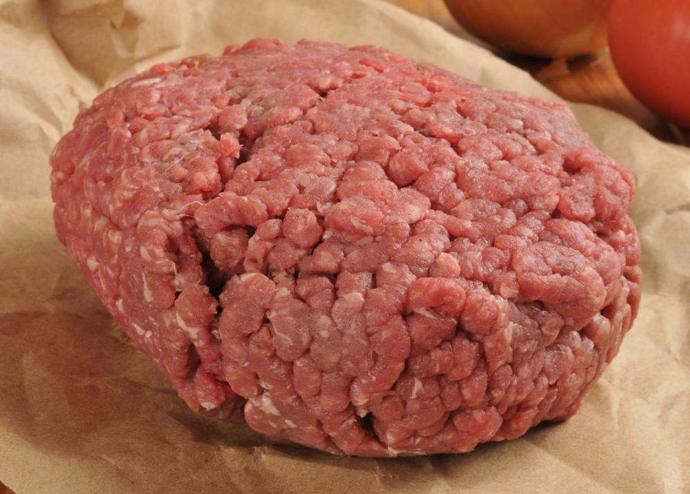 Raw meat should be frozen as quickly as possible.