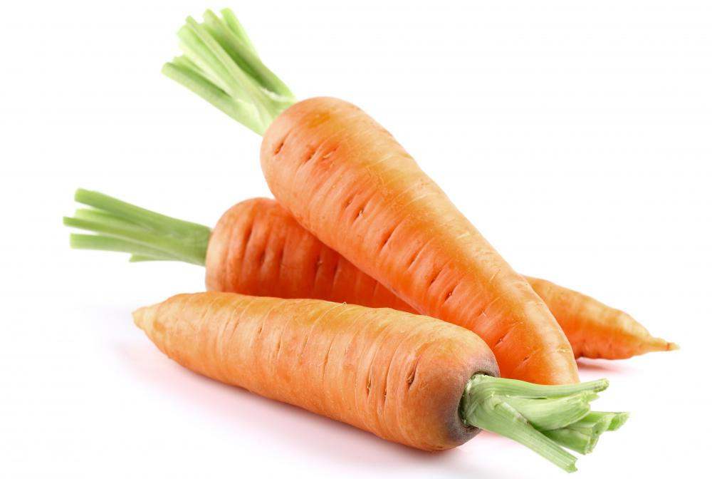 Carrots are a common vegetable used in rice stir-fry.