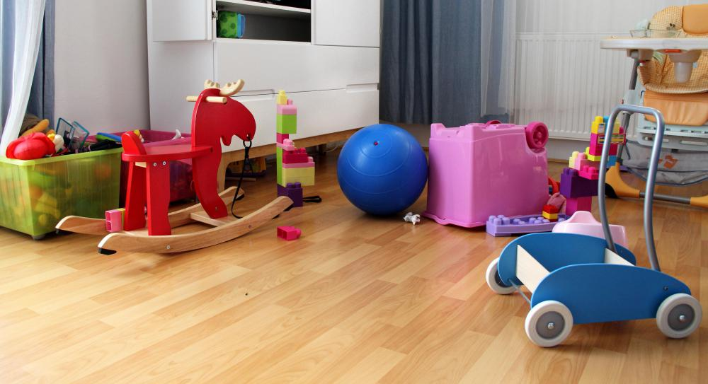 Styrene-butadiene rubber may be used to make children's toys.