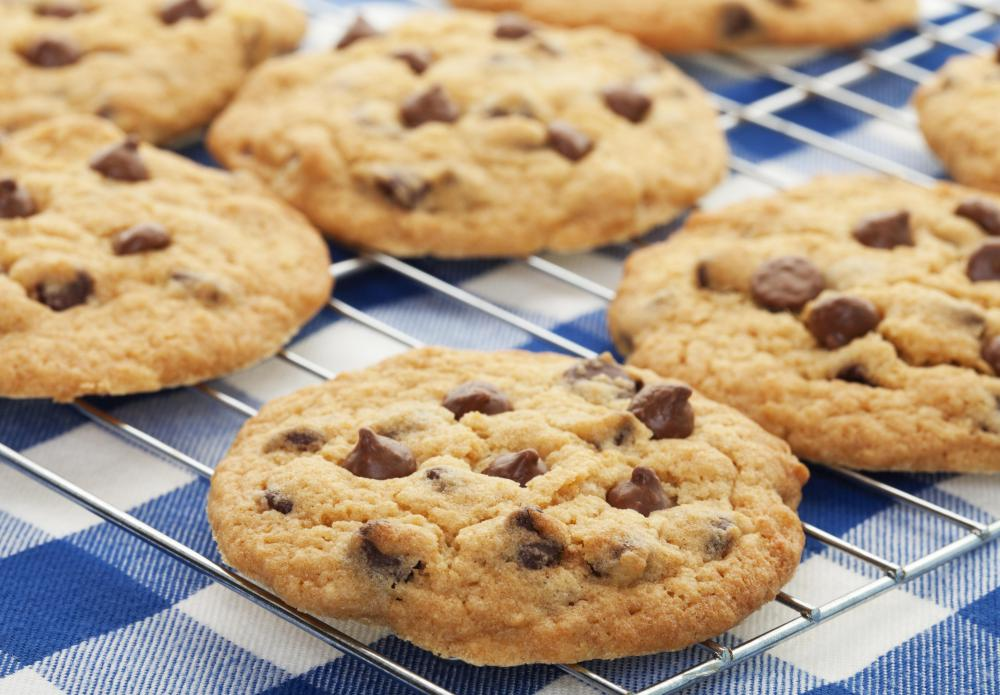 A batch of homemade cookies is simple to make and will appeal to guests.