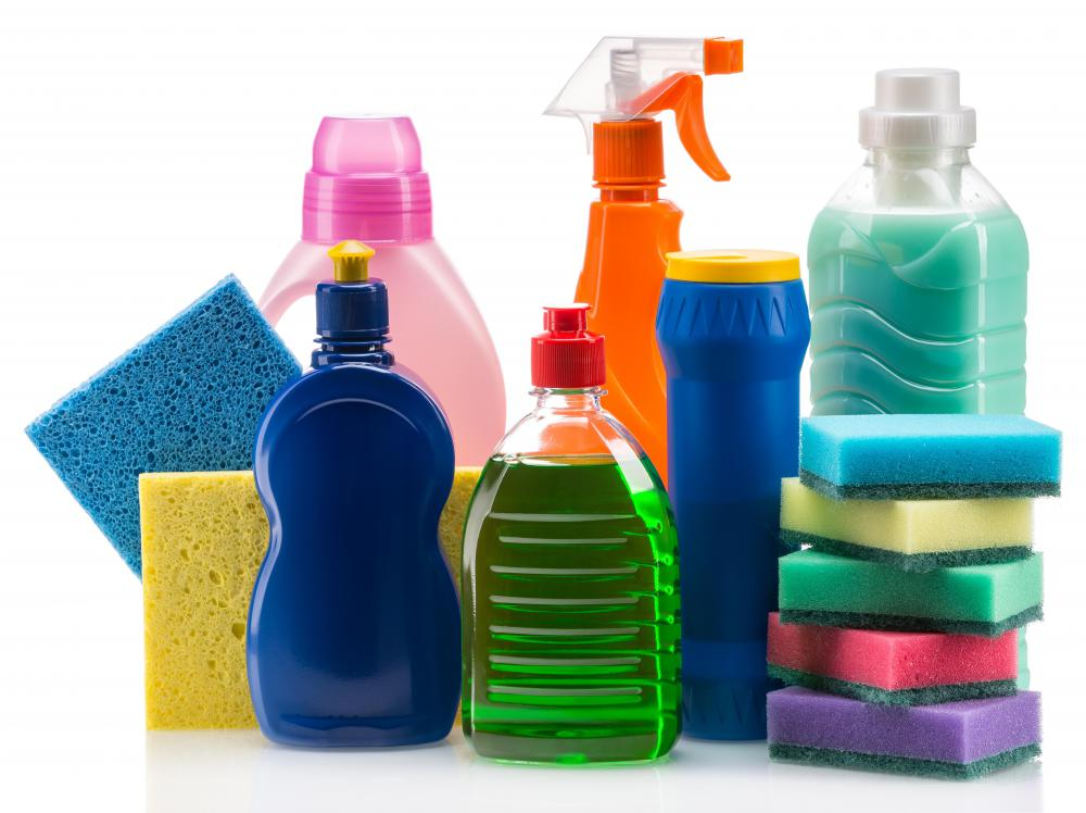 It's important to know which cleaning supplies are appropriate for your walls.