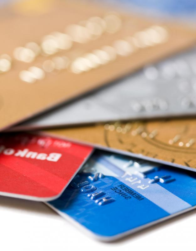 Many credit cards offer online payment options.