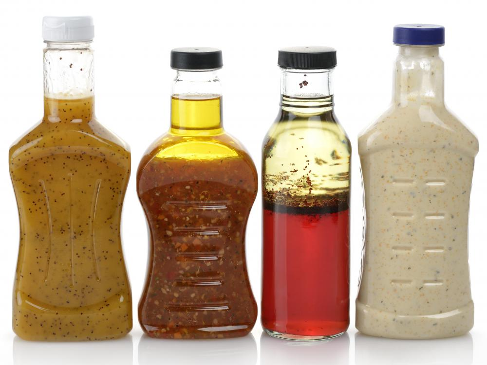 Both dill seed and dill weed may be used to make salad dressing.
