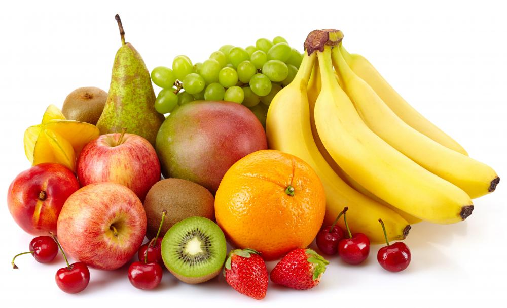 Lactic acid fermentation creates anaerobic energy by converting sugars such as fructose -- the kind naturally found in fruits -- into cellular energy and creating lactic acid as its byproduct.