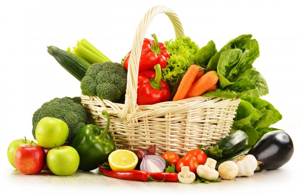 Raw vegetables are prepared for eating by cleaning and possibly slicing, and nothing else.