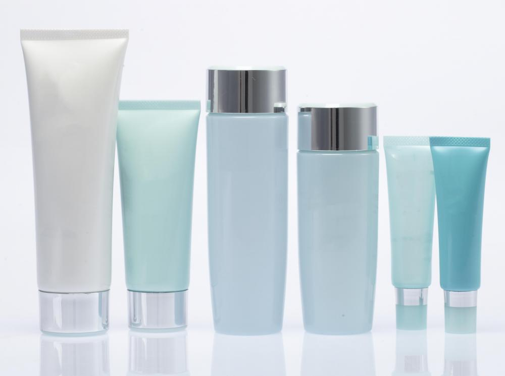 Beauty spas usually use lotions to aid in skin treatments.