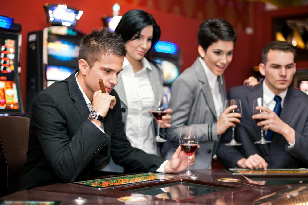Casino cashiers must be constantly on the alert for fraud.