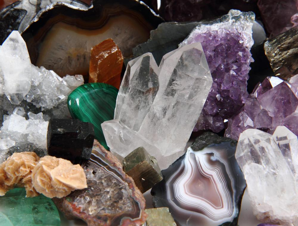 Geology is a large field that includes many disciplines, such as mineralogy.