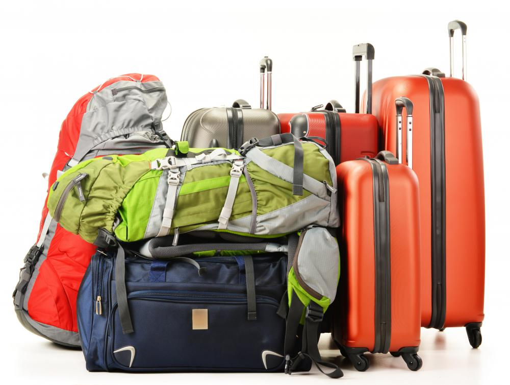 Hard plastic luggage is more durable, but is also heavier, than nylon luggage.