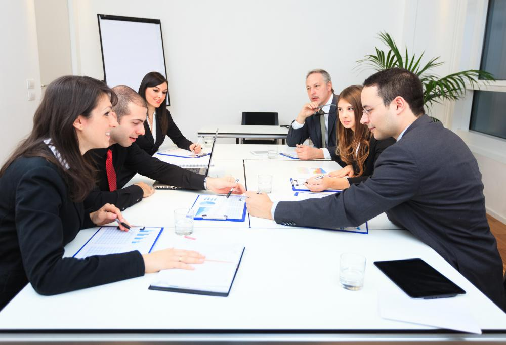 Business development analysts help develop project proposals.