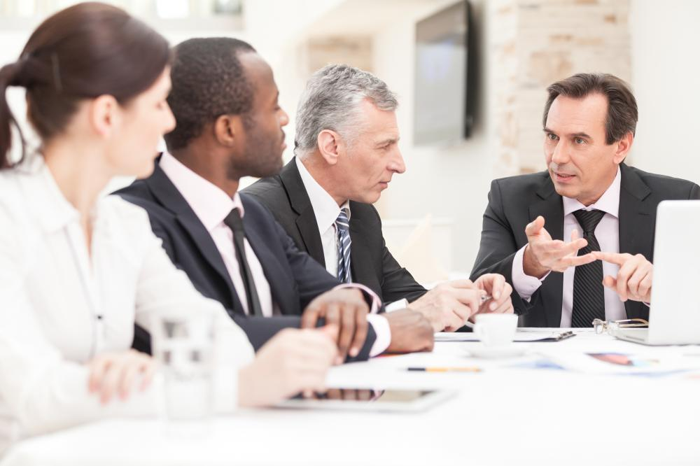 A nonprofit director usually reports to a board of directors.