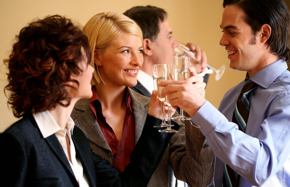 Office parties can make workers more motivated.