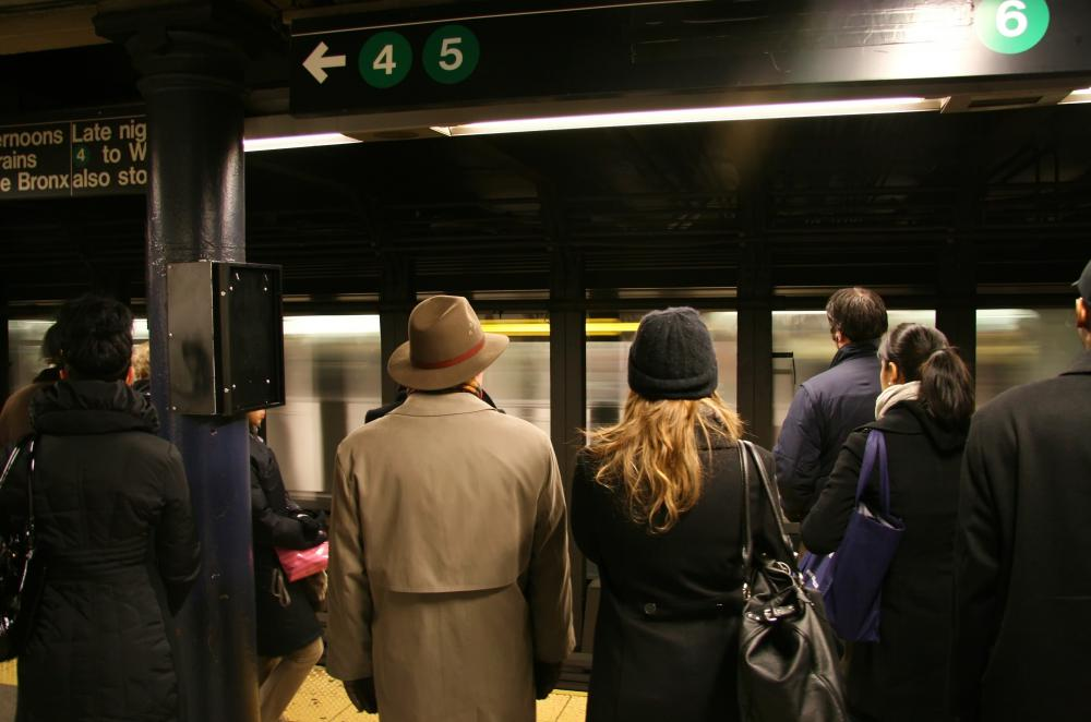 Many subway systems use an electrified rail to power the train cars.