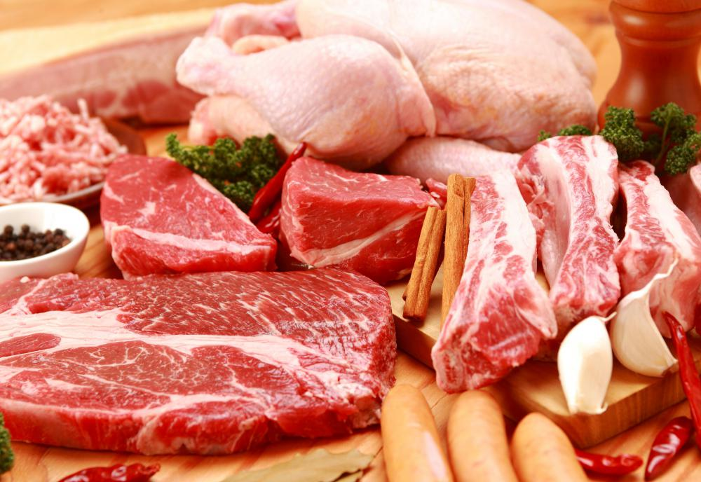 Digesting raw meat and the bacteria on the surface of raw meat can cause problems in people who are ill.