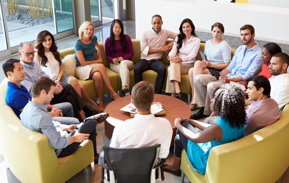Collaborative meetings can boost motivation in the workplace.