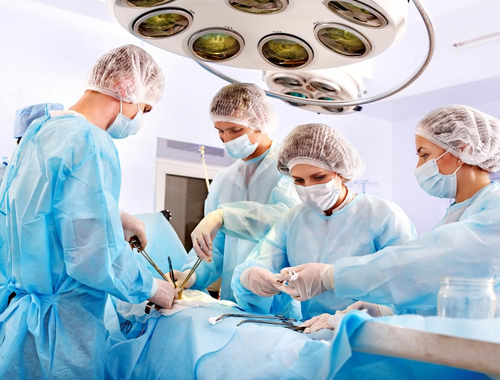 Bariatric surgeries can include gastric bypass surgery and gastric banding.