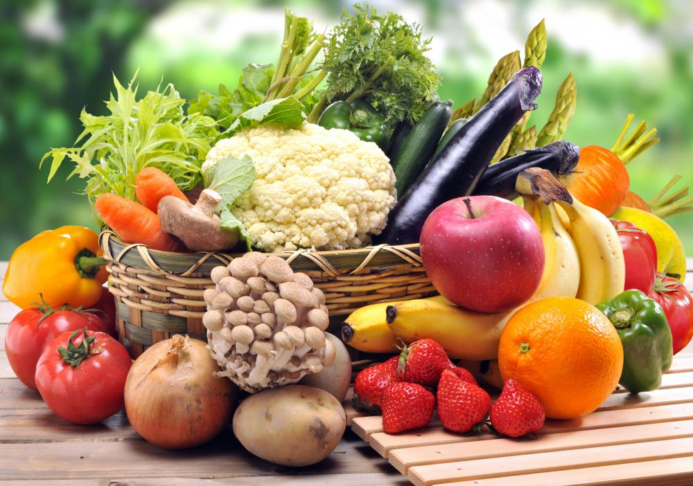 Children should be encouraged to eat more fruits and vegetables to help with their physical development.