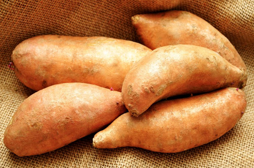 Yams can be substituted for potatoes in a good toning diet, but they still should be eaten sparingly.