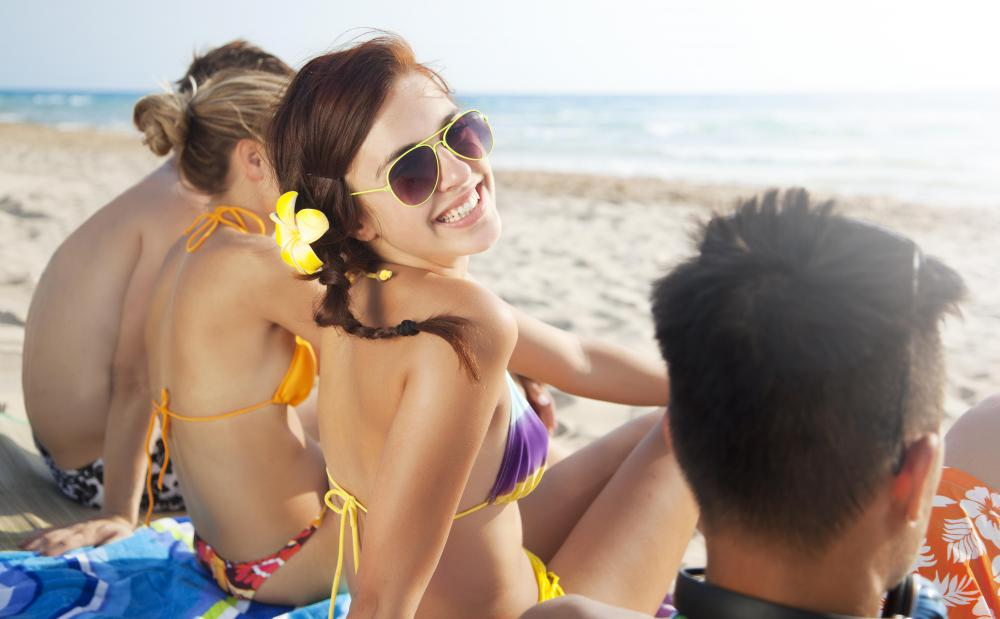 Spending too much time in the sun can cause overexposure to ultraviolet radiation.