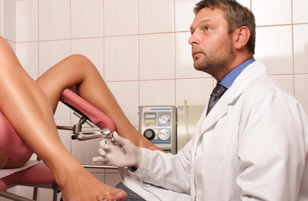 Virginity exam at gynecologist