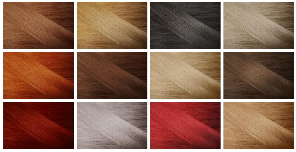 Henna, which produces varying shades of red, can be used to cover gray hair.