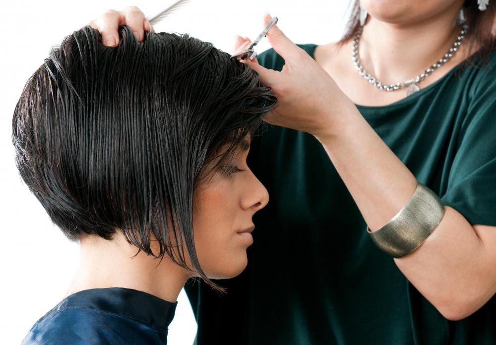 In addition to their managerial tasks, the owner of a hair salon may also cut and style hair.