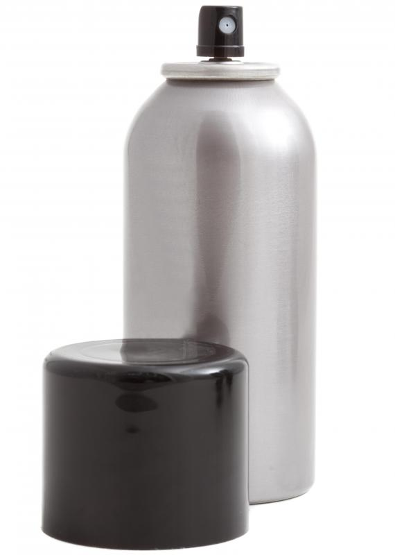 Hair spray, which can be used to set spit curls.