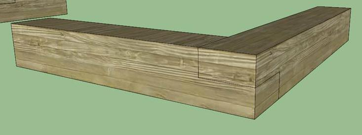 A half-lap joint is created by cutting out half the thickness of two pieces of wood and joining them together.