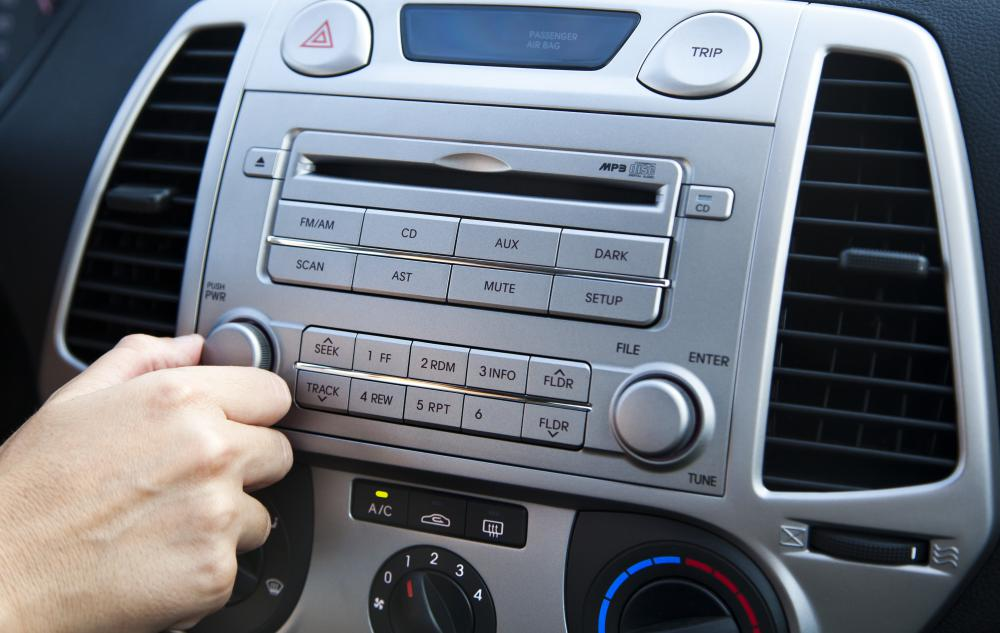 Accessories like car stereos are an important part of the car industry.
