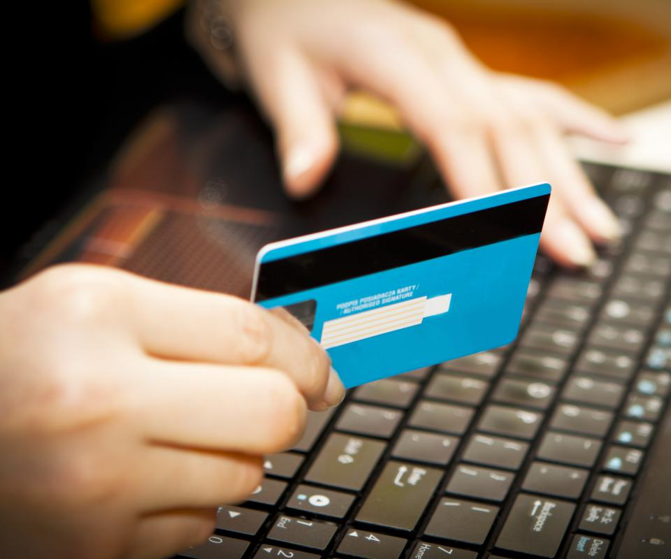 Shopping online from unsecured sites can lead to identity theft.