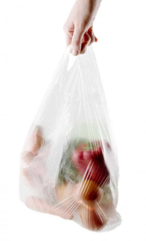 Canvas bags allow shoppers to reduce the number of plastic bags they use when buying groceries.