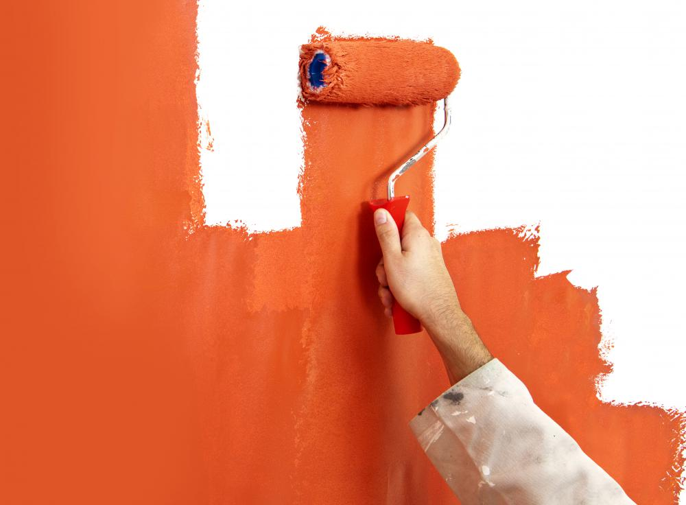 Traditional paints and no VOC paints can be used in the same manner.